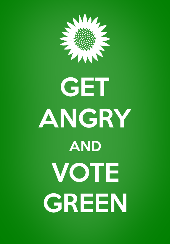 Get Angry and Vote Green by Michael O'Neil CounterPower.org